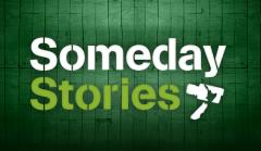 Someday Stories - Logo (on green shed)