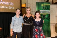 The Someday Awards 2018 - Tim Wallace (Stuart the Penguin) Debbie Byrnand Red Carpet TV, Neve Curtis (Beach Restoration Day)