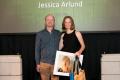 The Someday Awards 2018 - Time Capsule - Jessica Arlund with Chris Widdup from The Outlook For Someday
